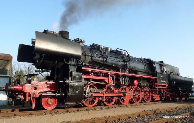 Dampflokomotive 52 8154-8 der 52er Baureihe -2