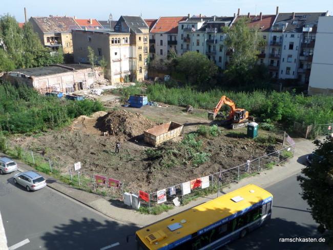 Baustelle Stötteritz 2014